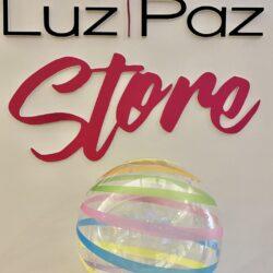 Stripe colorful bubble 18″