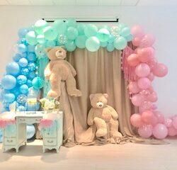 Gender Reveal Balloon Garland