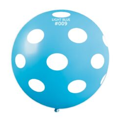 GS30: #009 Light Blue/White Polka Dot 327366