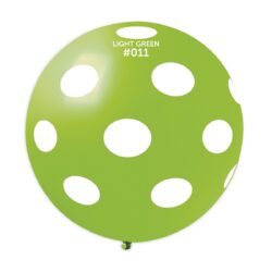 GS30: #011 Light Green/White Polka Dot 327373